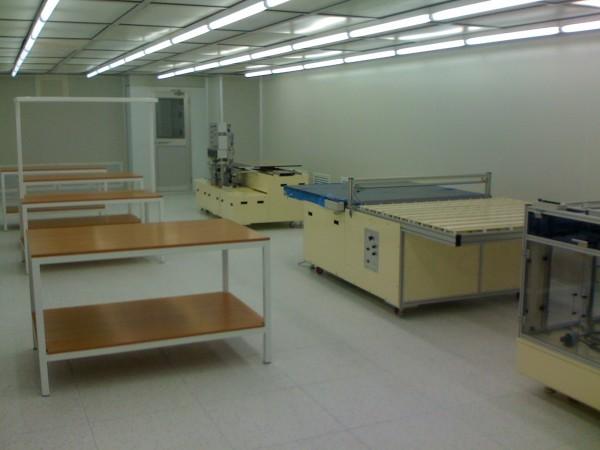 cleanroom for LCD repair